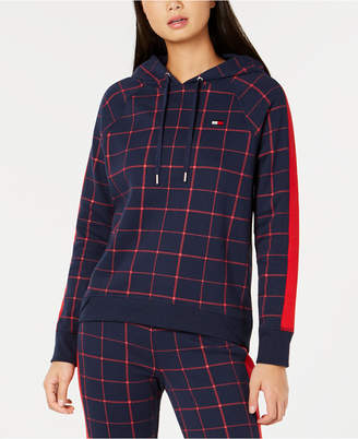 Tommy Hilfiger Plaid Hoodie, Created for Macy's