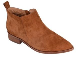 Dynamite Leather Ankle Boots $165 thestylecure.com
