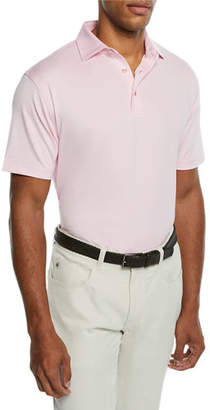 Peter Millar Men's Solid Stretch-Jersey Polo Shirt