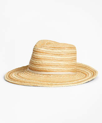 a2ffaf5a636 at Brooks Brothers · Brooks Brothers Striped Woven Straw Hat