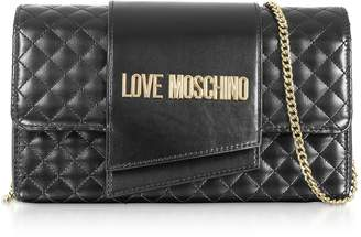 498d00fd9f Love Moschino Black Quilted Leather Bags For Women - ShopStyle Australia