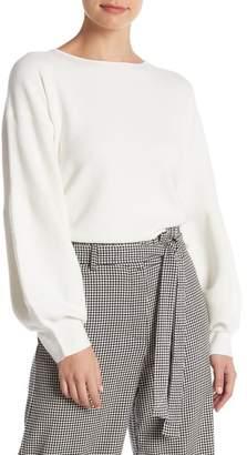 Do & Be Do + Be Blouson Sleeve Crew Neck Sweater