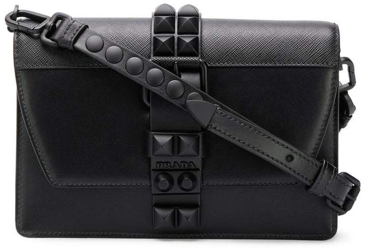 Prada Black Elektra Studded Bag