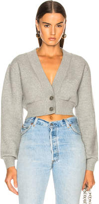 T By Alexander Wang Cropped Cardigan