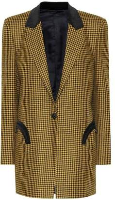 Blazé Milano Timeless checked wool blazer