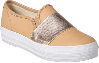 Keds Triple Bandeau Leather Sneaker