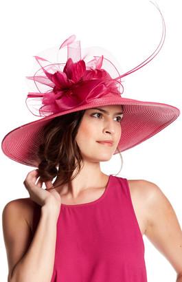 August Hat Iris Romantic Profile $88 thestylecure.com