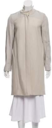 Helmut Lang Virgin Wool Knee-Length Coat wool Virgin Wool Knee-Length Coat