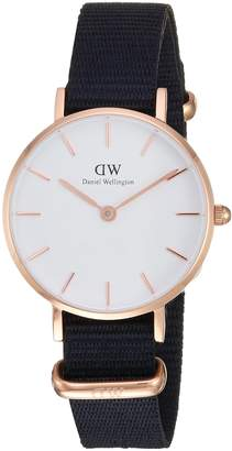 Daniel Wellington Women's DW00100251 Classic Petite Cornwall in White 28mm Watch