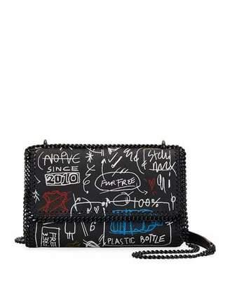 Stella McCartney Graffiti Chain Falabella Shoulder Bag