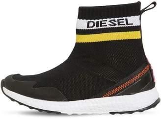 Diesel Knit Sock Sneakers