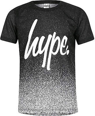Hype Boys black speckled T-shirt