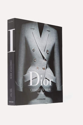 Assouline Dior: Christian Dior 1947-1957 By Olivier Saillard Hardcover Book - Black