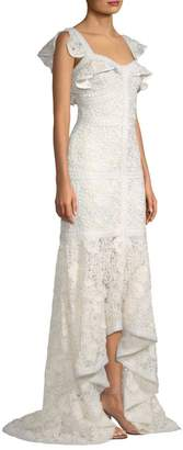 Alexis Zander Lace High-Low Dress