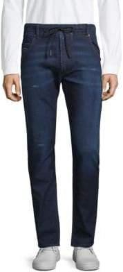Diesel Distressed Drawstring Jeans