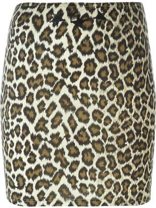 Jean Paul Gaultier Pre-Owned leopard print skirt