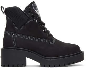 Kenzo Black Suede Sierra Boots