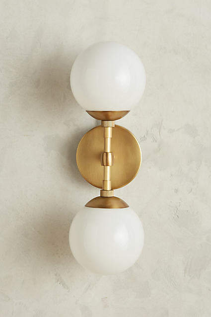 Anthropologie Anthropologie Double Perryman Sconce