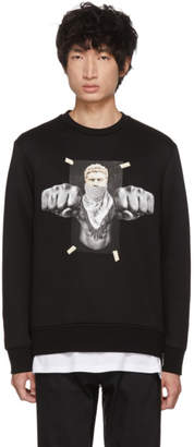 Neil Barrett Black Boxing Brutus Sweatshirt