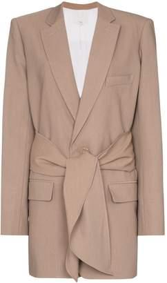 Tibi Tie front blazer