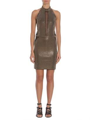 Balmain Short Studded Dress
