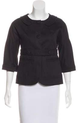 Marc by Marc Jacobs Button-Up Long Sleeve Jacket