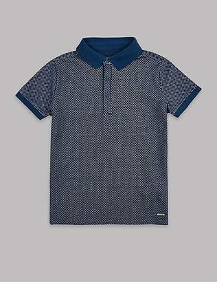 Autograph Cotton Rich Polo Shirt (3-16 Years)