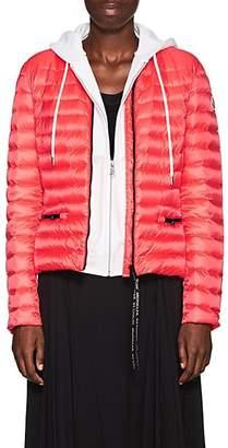 Moncler Women's Down Bomber Puffer Jacket - Orange