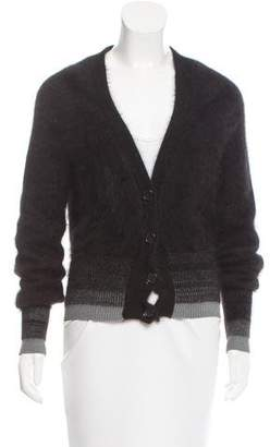Maison Margiela Textured Wool Cardigan