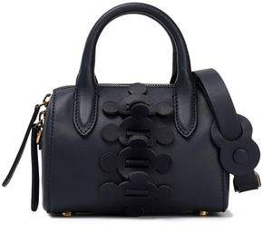 Anya Hindmarch Vere Barrel Mini Appliqued Leather Tote