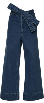 Apiece Apart Denim Merida with Tie Belt