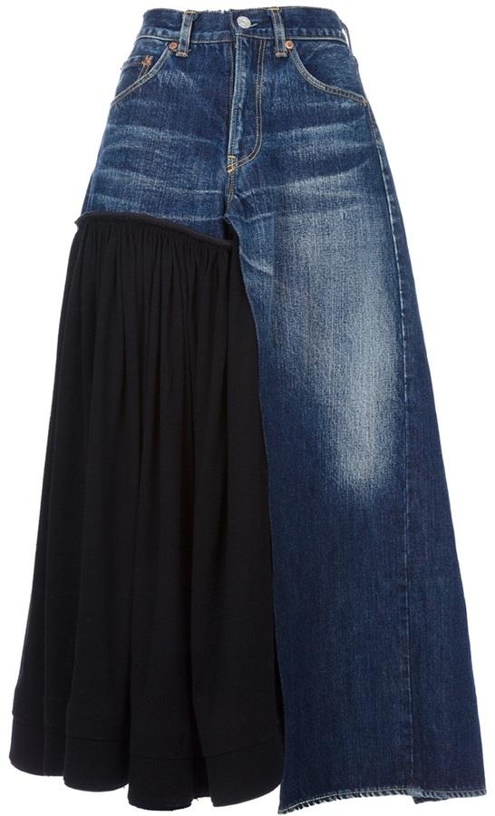 Yohji Yamamoto Vintage denim skirt