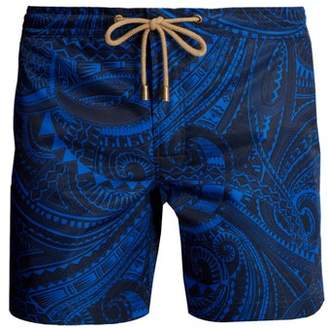 Thorsun - Titan Fit Tattoo Print Swimshorts - Mens - Blue