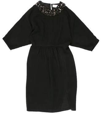 Megan Park Embellished Knee-Length Dress