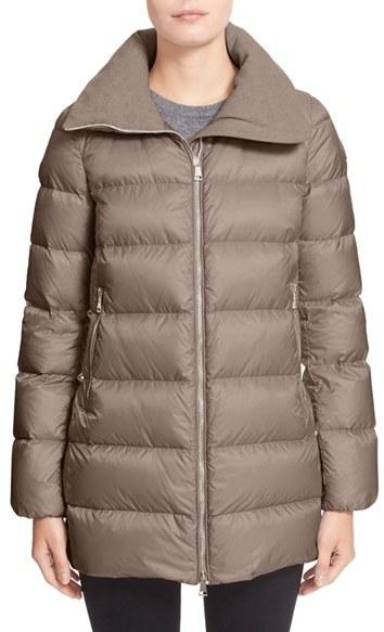 MonclerWomen's Moncler 'Torcyn' Nylon Down Puffer Coat