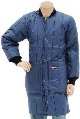 Refrigiwear INC Navy Blue Nylon Insulated Cooler Frock Liner - Large