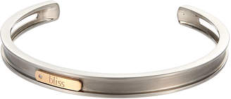 "Damiani Bliss By 18k Rose Gold & Titanium Bracelet, 6""L"
