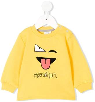 Fendi Kids Fun sweatshirt