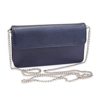 Royce Leather Royce Chic Rfid Blocking Women Wristlet Convertible Cross Body Bag in Genuine Leather