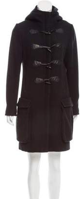 Rag & Bone Wool Hooded Coat