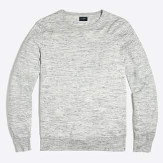 J.Crew Factory Cotton-linen crewneck sweater