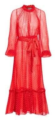 Zimmermann Ninety-Six Polka Dot Silk Dress