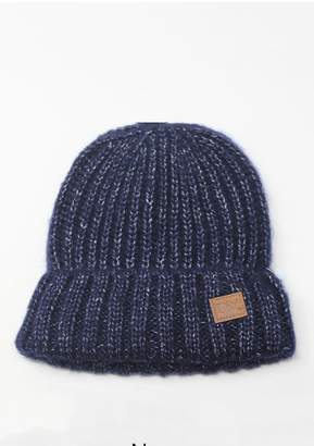 David & Young Marled Rib Beanie