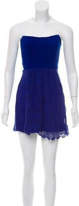Ella Moss Strapless Mini Dress