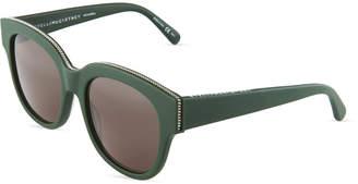 Stella McCartney Stella Plastic Square Sunglasses