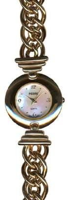 Pedre Women's 5900GX Gold-Tone Link Bracelet Watch
