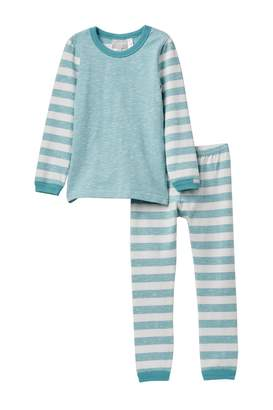 Coccoli Striped Sleeve Pajama (Toddler, Little Kids, & Big Kids)