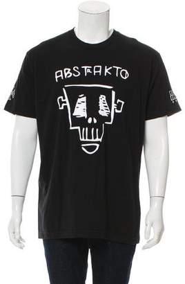 Chrome Hearts Abstrakto Graphic Print T-Shirt w/ Tags