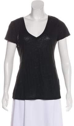 Calypso Linen Short-Sleeve Top