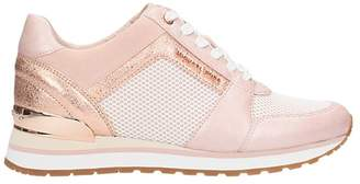 Michael Kors Billie Trainer Pink Scuba Mesh Sneakers